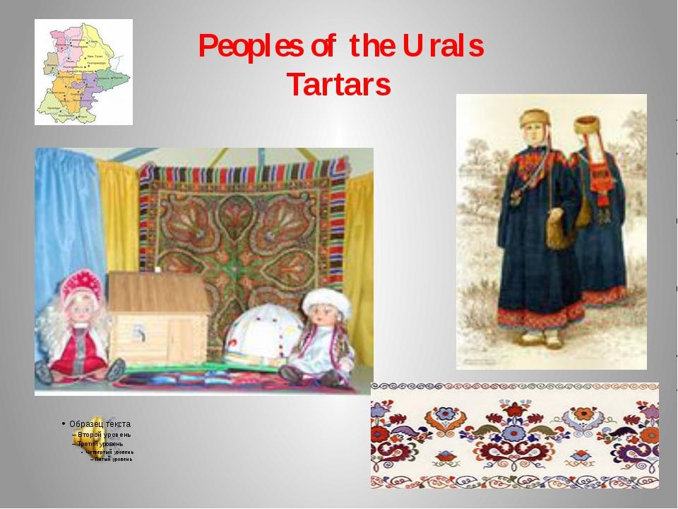 Peoples of the Urals Tartars