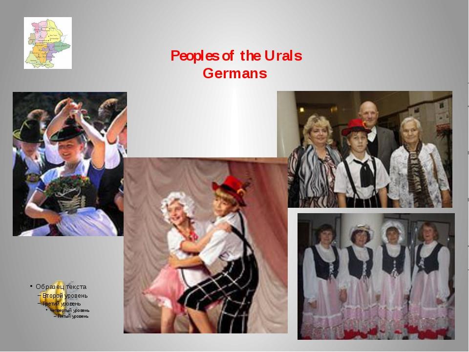Peoples of the Urals Germans