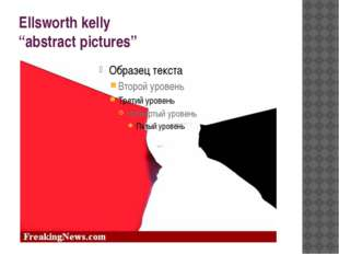"""Ellsworth kelly """"abstract pictures"""""""