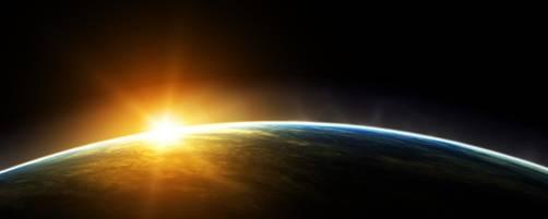 Солнечный свет на поверхности Земли