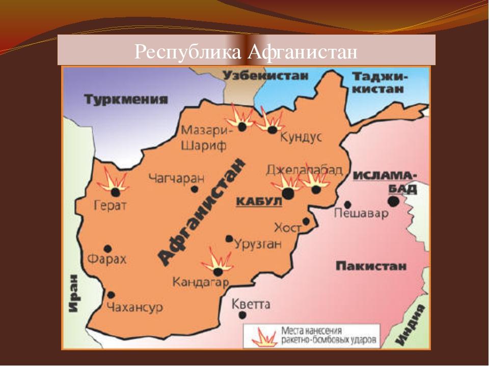 Республика Афганистан