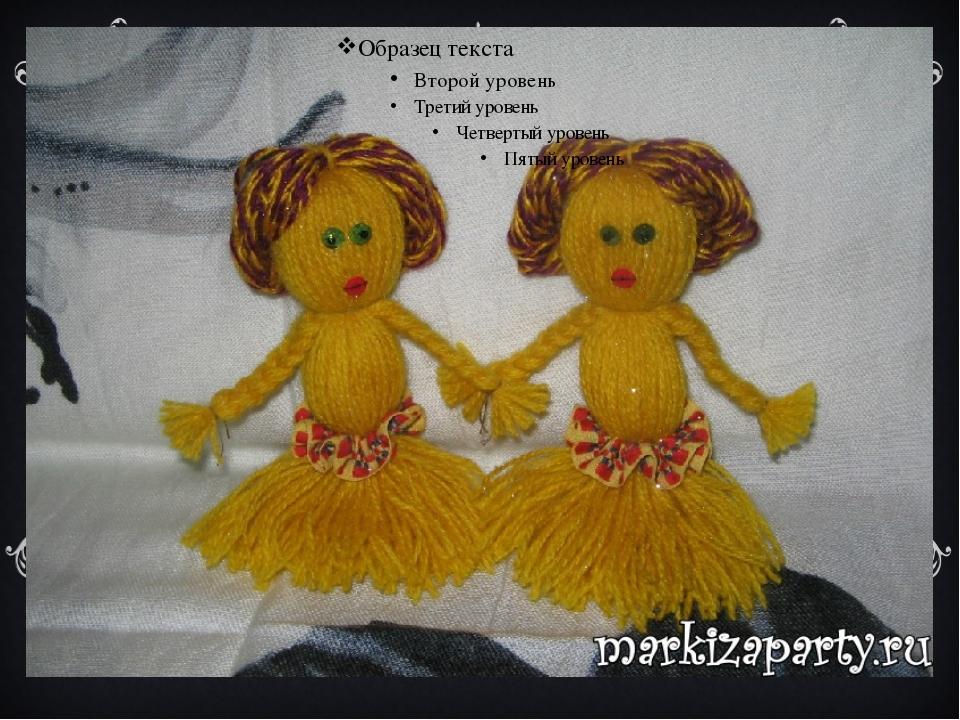 Старинные куклы своими руками из ниток - Оазис