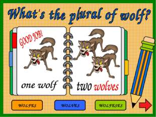 WOLFES WOLVES WOLFESES