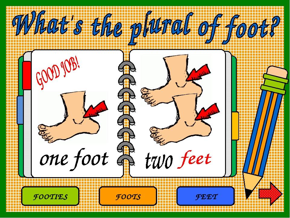 FOOTS FEET FOOTIES