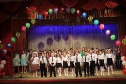 В РДК прошел отчетный концерт учащихся школы №3
