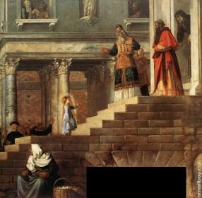 Тициан Введение во храм