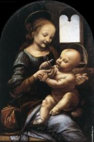 Леонардо да Винчи Мадонна Бенуа