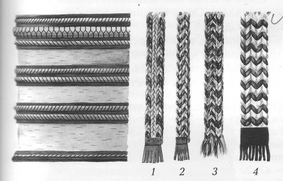 Плетение из конского волоса