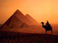 Закт Солнца у пирамид, Египет