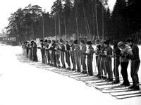 Зимние олимпийские виды спорта - лыжные гонки