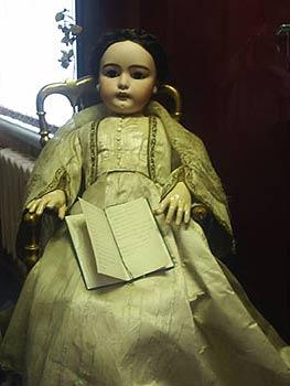 Кукла, поступившая из Екатерининского дворца