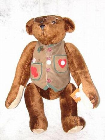 Мишка «Тедди Рузвельт», сшитый первым тедди-мастером Беверли Порт