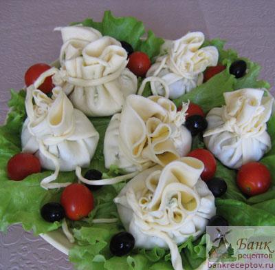 Фото Мясной салат для праздника