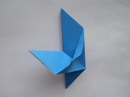 голубь мира оригами