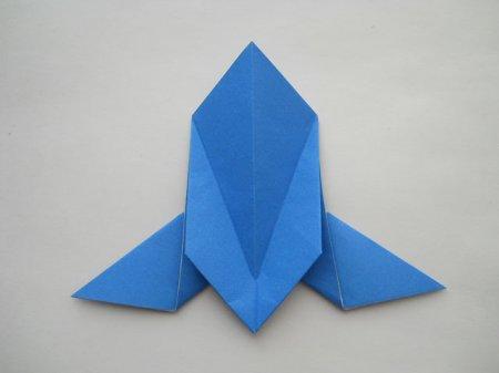 как сделать из бумаги голубя