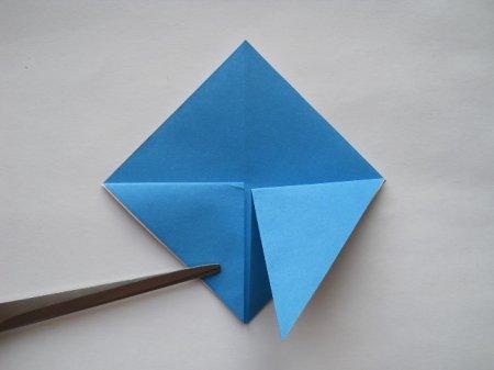 голубь из бумаги