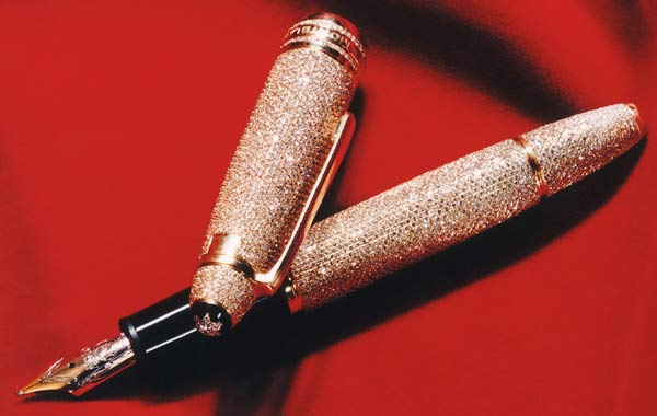 ручка Montblanc Meisterstuck Solitaire Royal Diamond