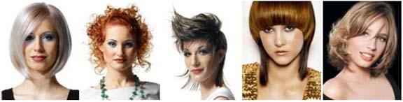 женские стрижки средние волосы фото