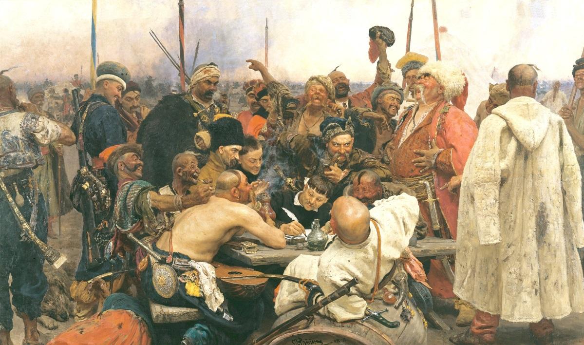 C:\Users\Дом\Desktop\сценарий бала-салона\ЖИВЫЕ КАРТИНЫ\Repin_Cossacks.jpg