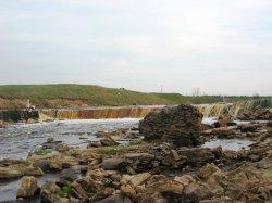 Саблинский водопад (Ульяновка (Ленинградская область))