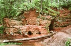 Фото Красные пещеры (Рождествено (Ленинградская область))