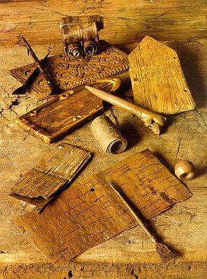 Береста - широкое распространение с 12 века