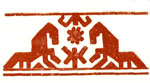 Зооморфный мотив на марийском орнаменте