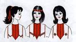 Марийские обереги в народном костюме - чызорол