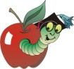 C:\Documents and Settings\1\Рабочий стол\яблочные клипарты и не только\червяк.jpg
