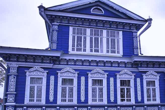 Ремонт, восстановление и реставрация деревянных фасадов.