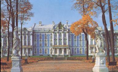 царское село - екатерининский дворец