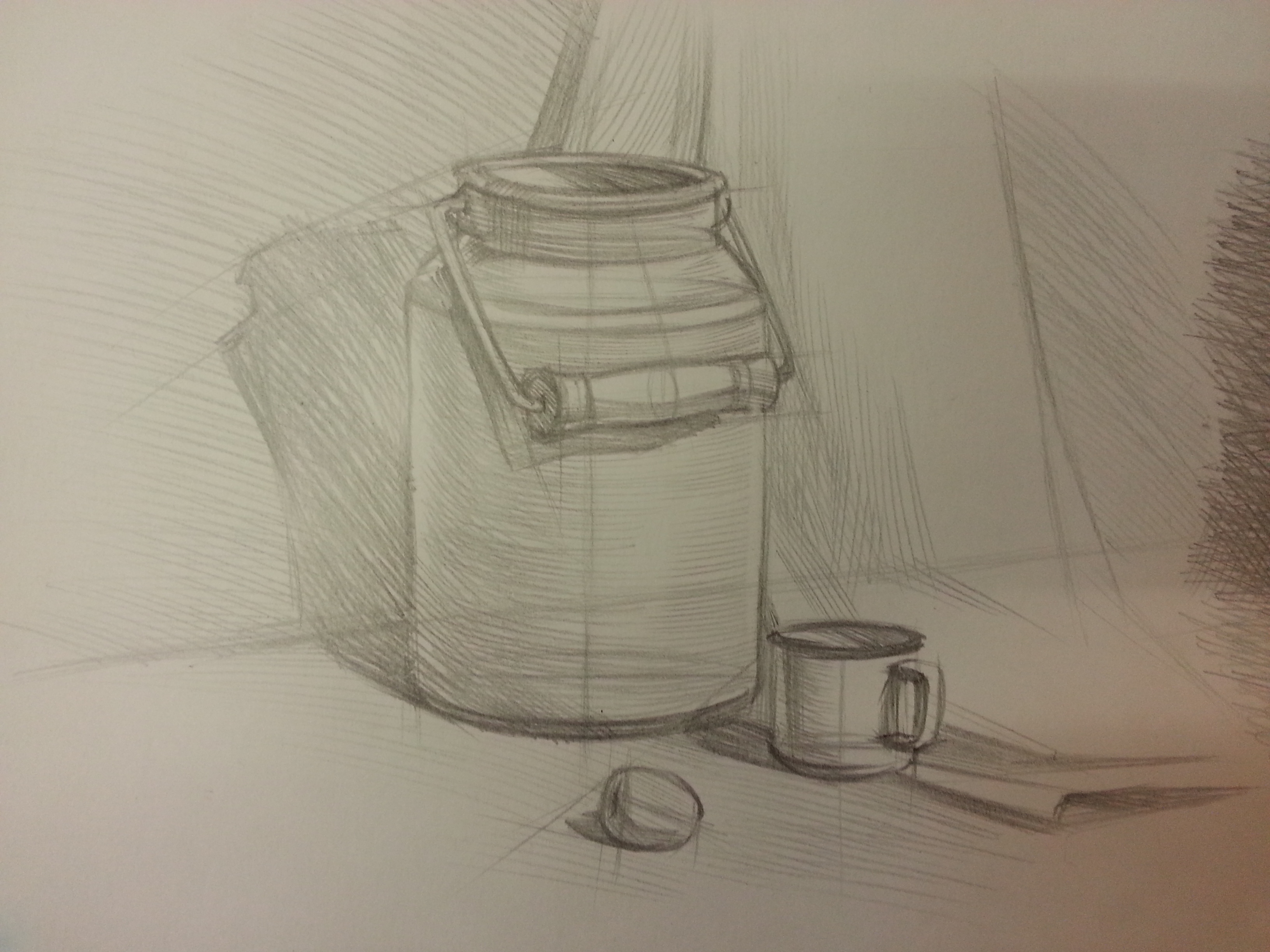 План конспект рисования натюрморта с натуры