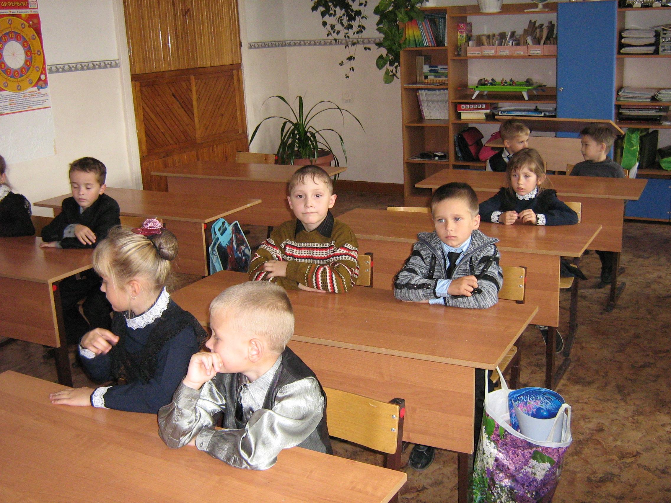 Внеурочное занятие в начальной школе новый год