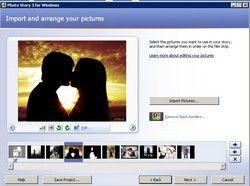 программа для создания слайдшоу Photo Story