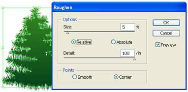 roughen options
