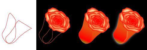 Делаем бутон розы