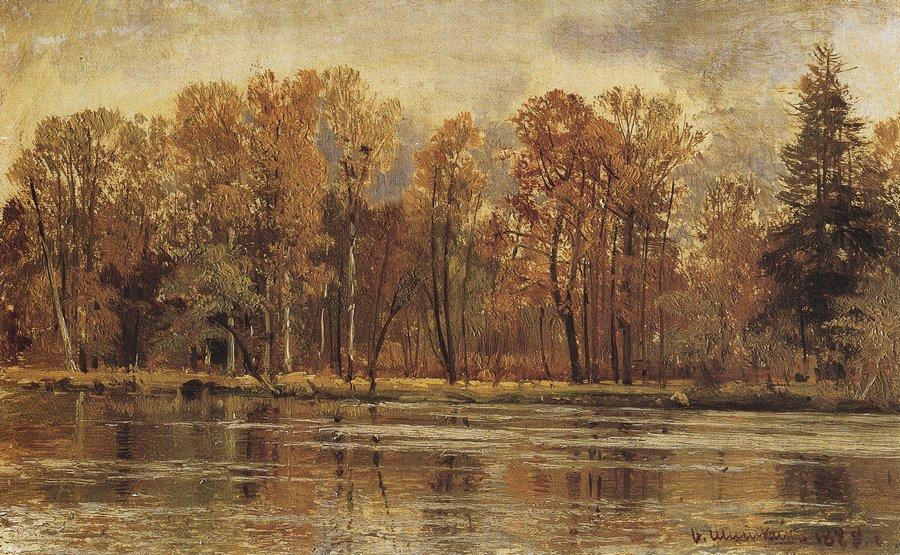 Шишкин. Золотая осень. 1888
