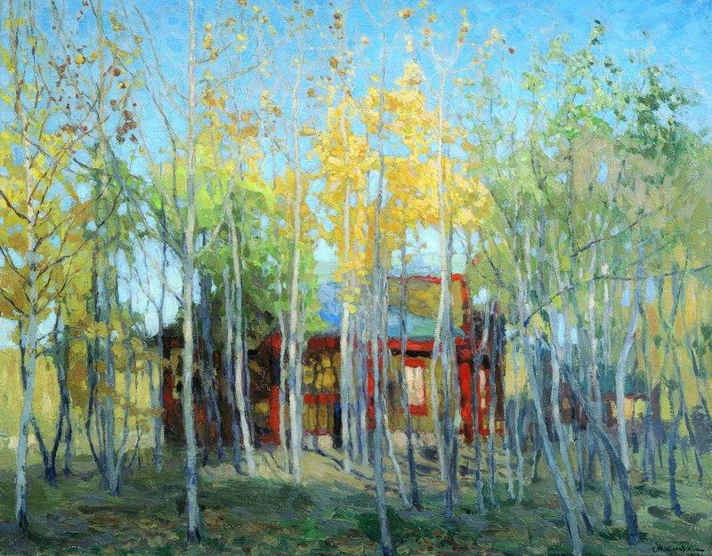 Жуковский С.. Золотая осень. 1901