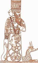 Статуи богов и священнодействия