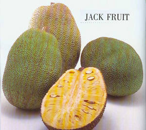 Фрукты Тайланда Джек-фрукт (kha-nun).