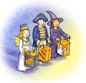 English 4 kids: Helloween songs! (Treak or treat)