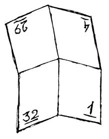 Раскрытый лист тетради
