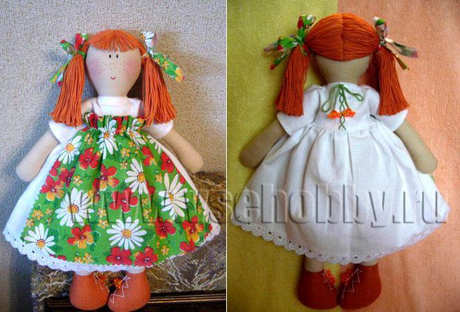 Кукла своими руками пошаговое фото