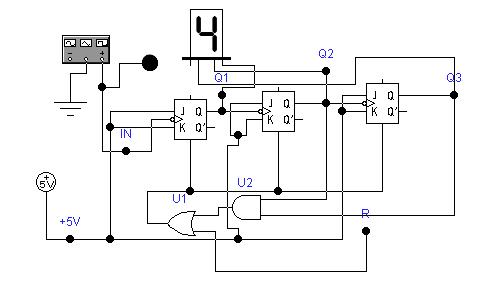 функциональная схема счетчика cont6