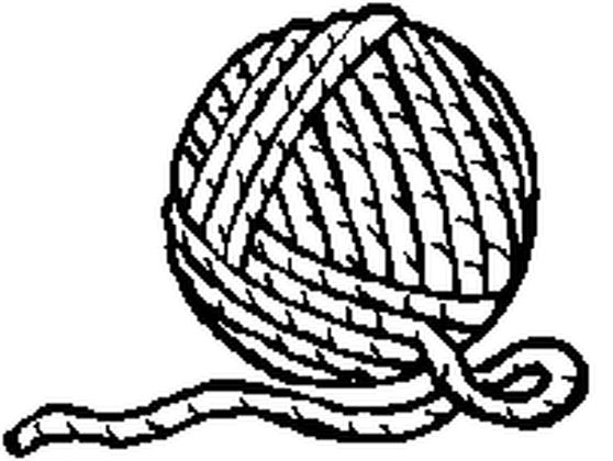 yarn coloring printable - 558×420
