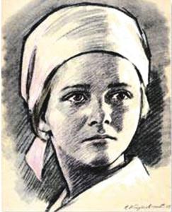 Надя Богданова. Горячее сердце юной партизанки