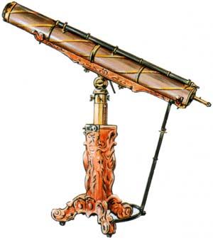 Зеркальный телескоп 1742 г.
