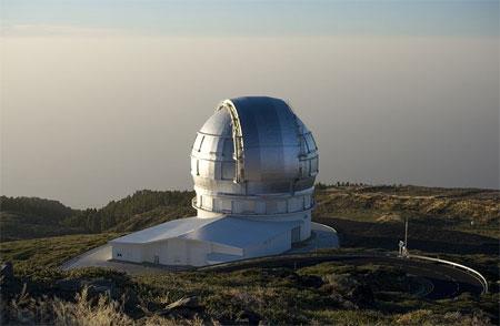 The Great Canary Telescope (GCT) - Большой Канарский телескоп