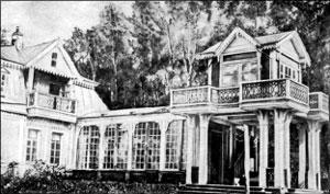 Дом Менделеевых в имении Боблово