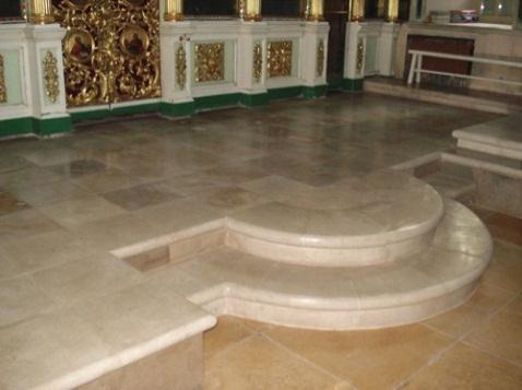 Солея Храма Иоанна предтечи на Пресне, Москва